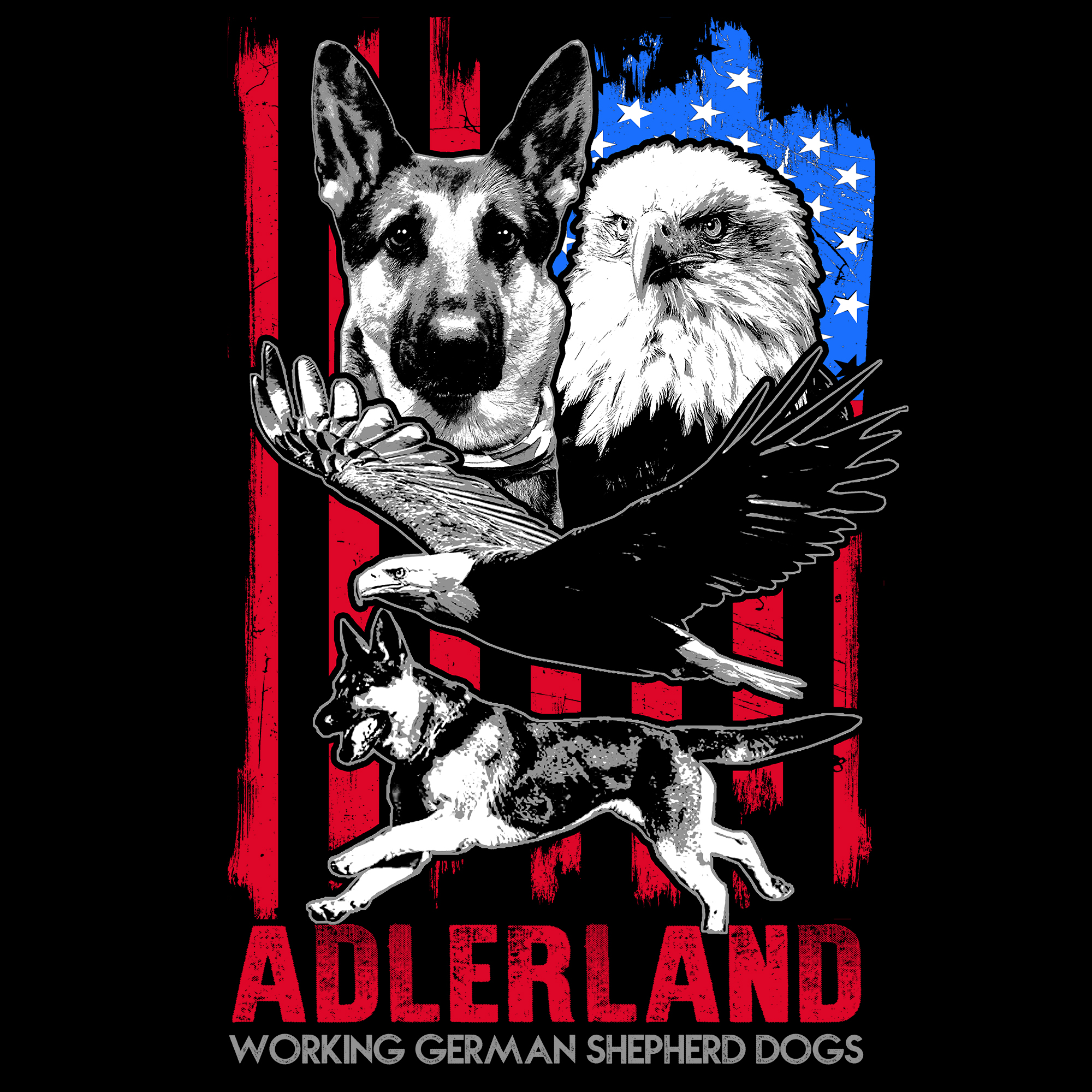 Adlerland Working German Shepherds